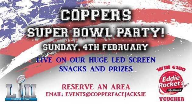 Coppers Super Bowl LII