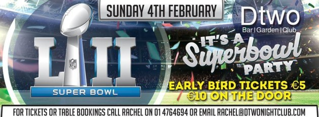 Dtwo Super Bowl LII
