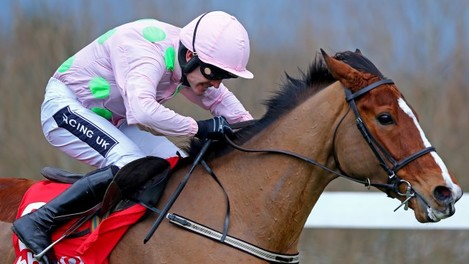 Ruby Walsh onboard Faugheen on the way to winning