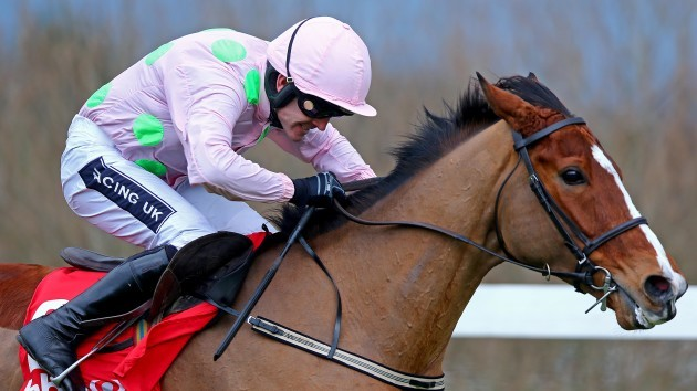 Ruby Walsh onboard Faugheen on the way to winning