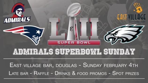 Cork Admirals Super Bowl LII