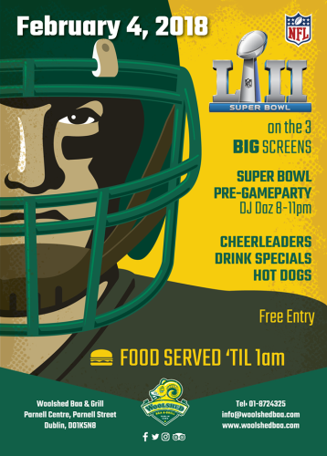 Woolshed Super Bowl LII 2