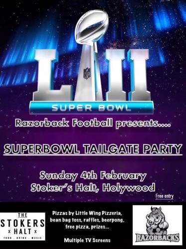 Razorbacks Super Bowl LII