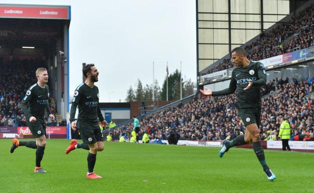 Burnley v Manchester City - Premier League - Turf Moor