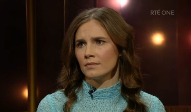 2d5f3fdf Amanda Knox talked prison and redemption and then sang an Irish rebel song  on Ray D'Arcy last night