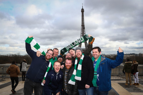 Ireland fans from Wexford