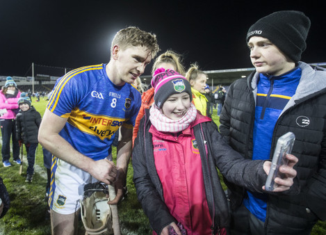 Brendan Maher poses for photos