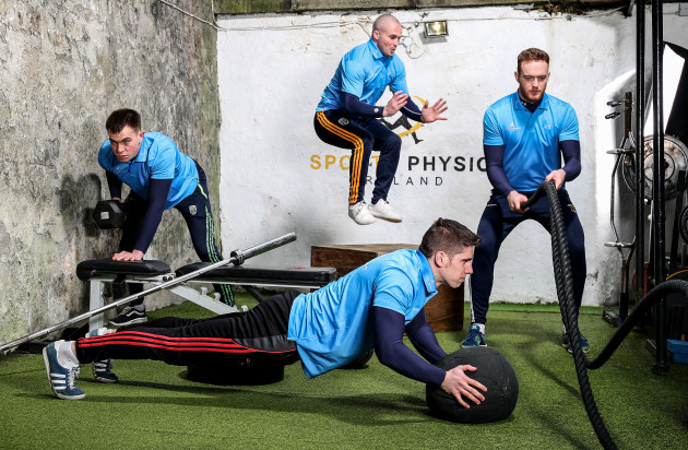 Jack Barry, Dotsy O'Callaghan, Lee Keegan and Jack Guiney