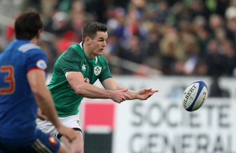 Ireland's  Johnny Sexton
