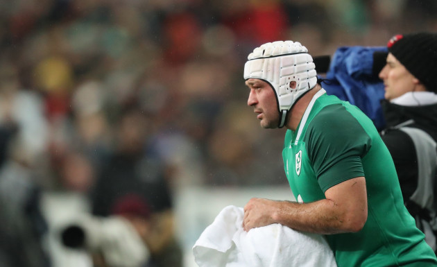 Ireland's Rory Best
