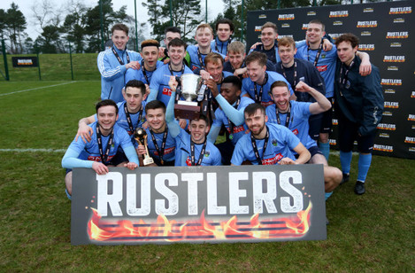 UCD celebrate with the Collingwood Cup