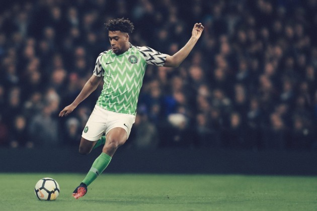 Nigeria World Cup home shirt