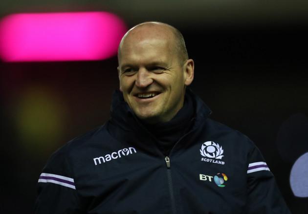 Scotland's head coach Gregor Townsend