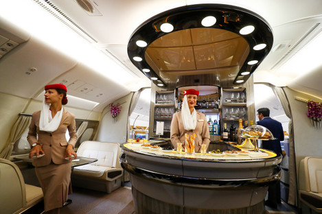 100th Airbus A380 delivered to Emirates Airline
