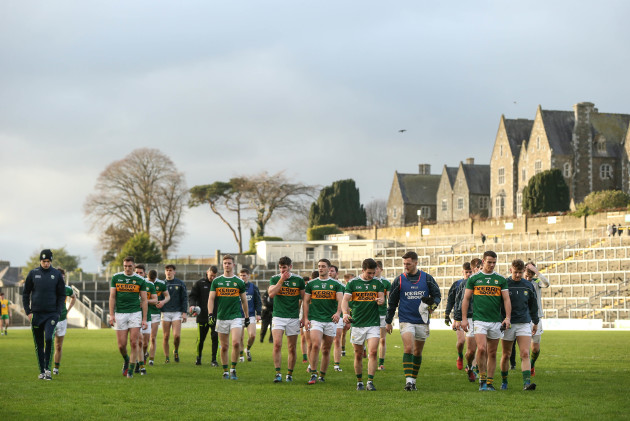 Kerry players after the match