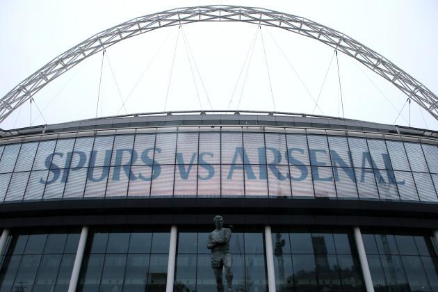 Tottenham Hotspur v Arsenal - Premier League - Wembley Stadium