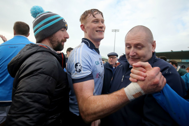 William O'Donoghue celebrates after the game