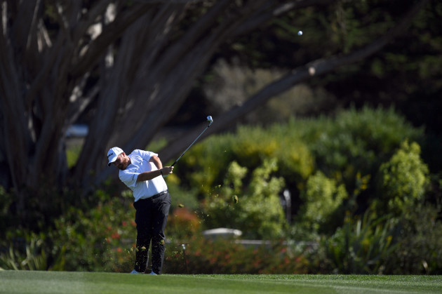 PGA: AT&T Pebble Beach Pro-Am - Second Round