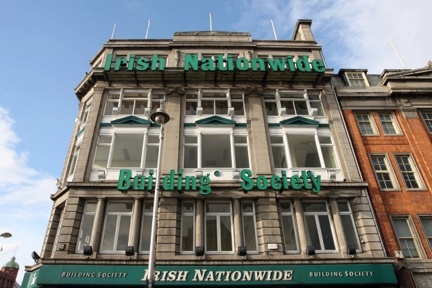 File Photo Irish Nationwide Building Society has admitted to widespread breaches following a Central Bank regulatory investigation, and has entered a settlement with the Central Bank.Ê A fine of 5m has been imposed on the building society but it will not