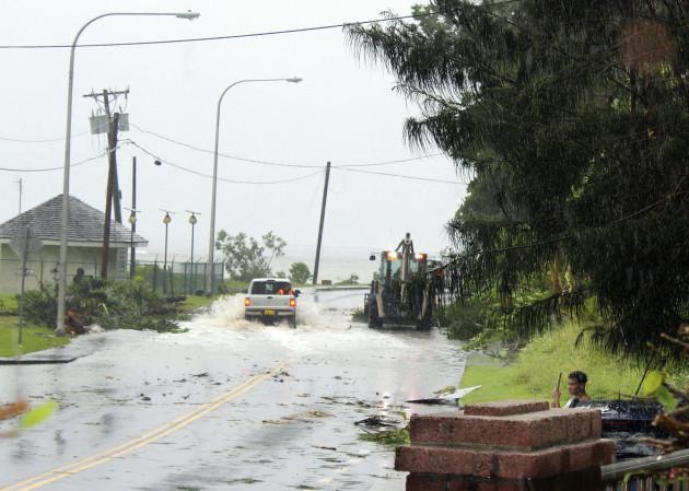 American Samoa Storm