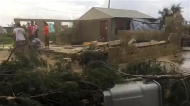 Tonga Cyclone Gita