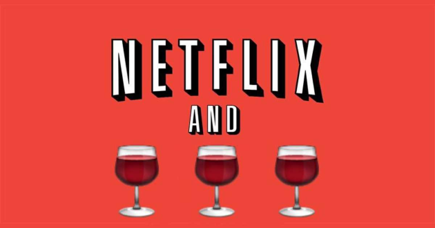 Pick a glass of wine, and we'll give you a Netflix rom-com