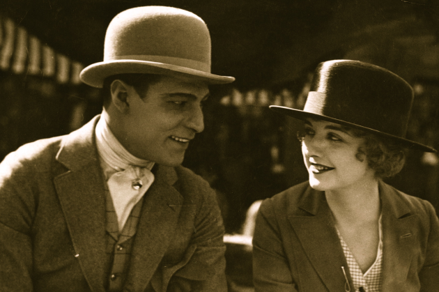 Rudolph Valentino & Alice Terry