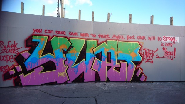 Famous Graffiti Wall Behind Bernard Shaw Pub To Be Demolished To Make Way For  Flat Complex
