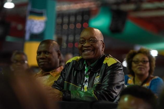 SOUTH AFRICA-JOHANNESBURG-ZUMA-RESIGNING