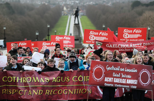 Irish language act campaign