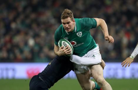 Ireland's Chris Farrell