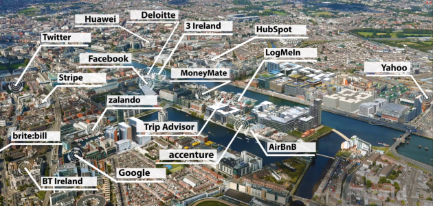 silicon docks map