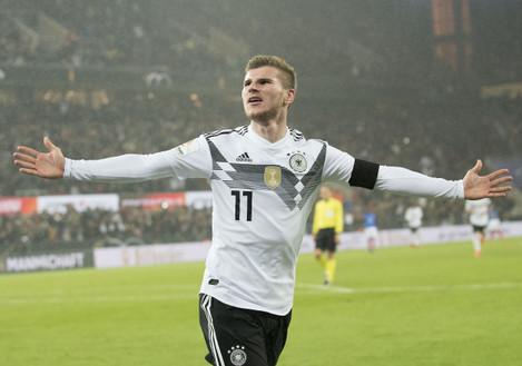 Fussball Laenderspiel/ Freundschaftsspiel/ Germany - Frankreich 2:2