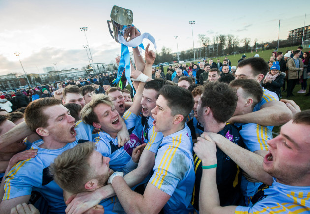 Stephen Coen lifts The Sigerson Cup