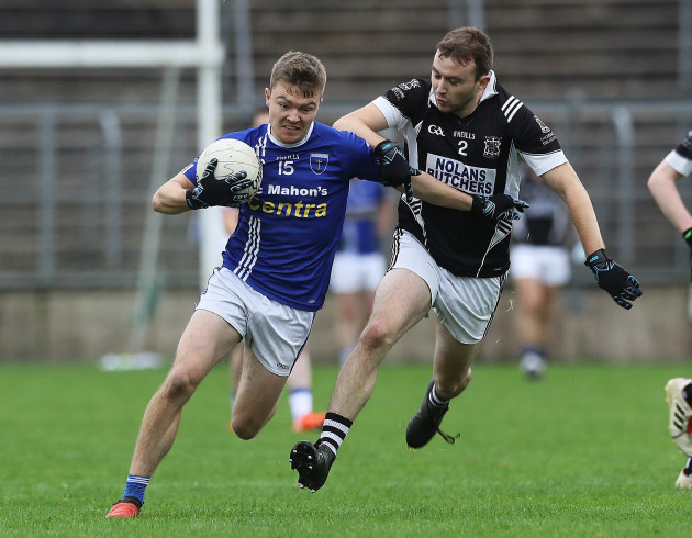 Paul McArdle and Conor McCarthy