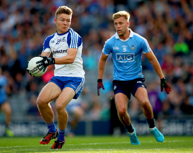 Conor McCarthy and Jonny Cooper