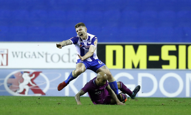 Wigan Athletic v Manchester City - Emirates FA Cup - Fifth Round - DW Stadium
