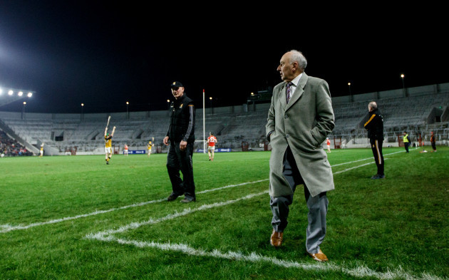 Brian Cody and Frank Murphy