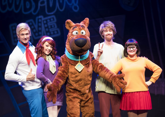 Scooby-Doo Live! Musical Mysteries Photocall - London