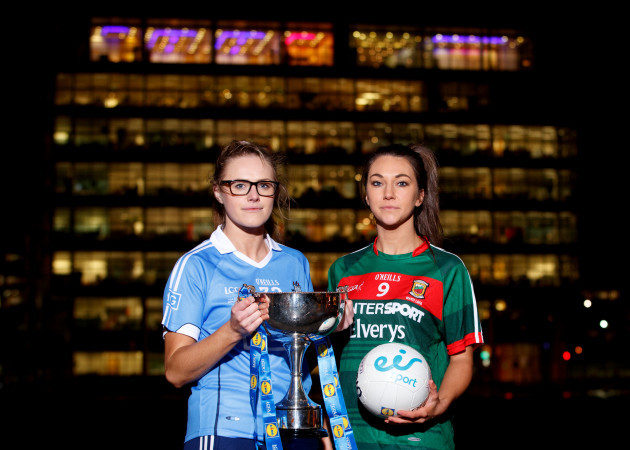 Amy Connolly and Niamh Kelly