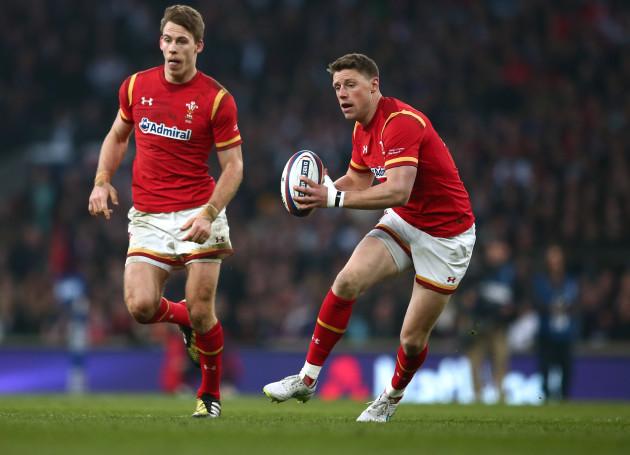 Liam Williams and Rhys Priestland