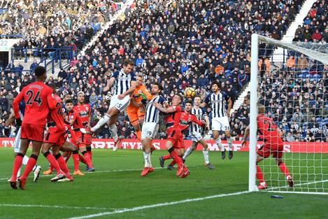 West Bromwich Albion v Huddersfield Town - Premier League - The Hawthorns