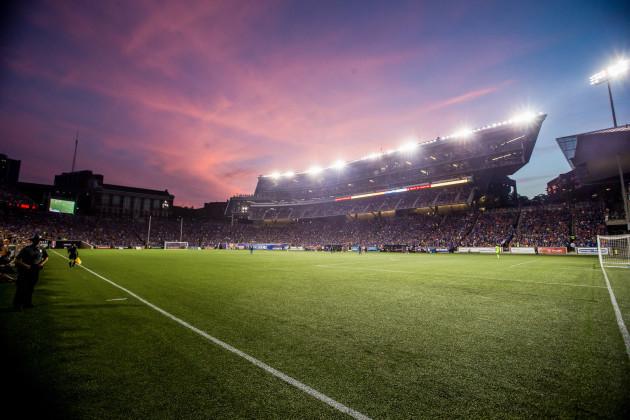 Nippert Stadium during the FC Cincinnati vs New York Red Bulls FC Cincinnati vs New York Red Bulls, 2017 U.S. Open Cup Semifinal