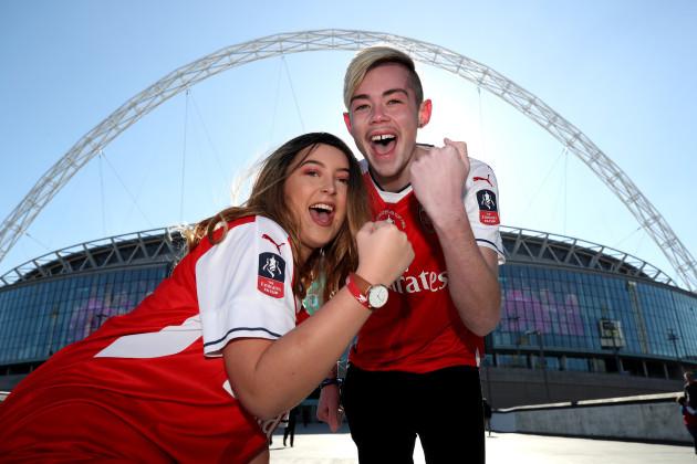 Arsenal v Manchester City - Carabao Cup Final - Wembley Stadium