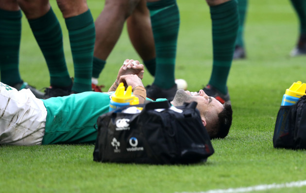Conor Murray down injured