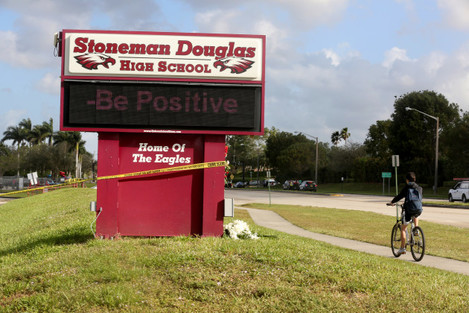 Parkland School Shooting Aftermath - Florida
