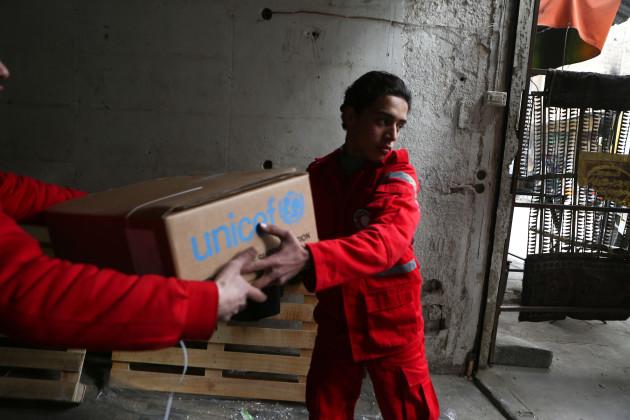 Syria: UN humanitarian aid in Syria