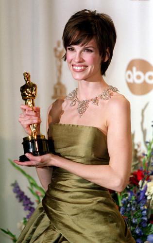 Oscars Hilary Swank Best Actress OSC