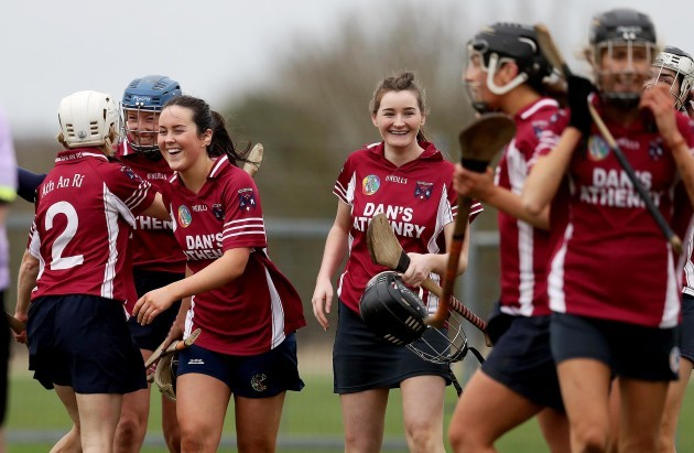 Athenry celebrate after the game