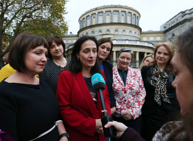 15/11/2017 Past and present female Oireachtas members At Dail